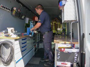 unsere mobile Werkstatt